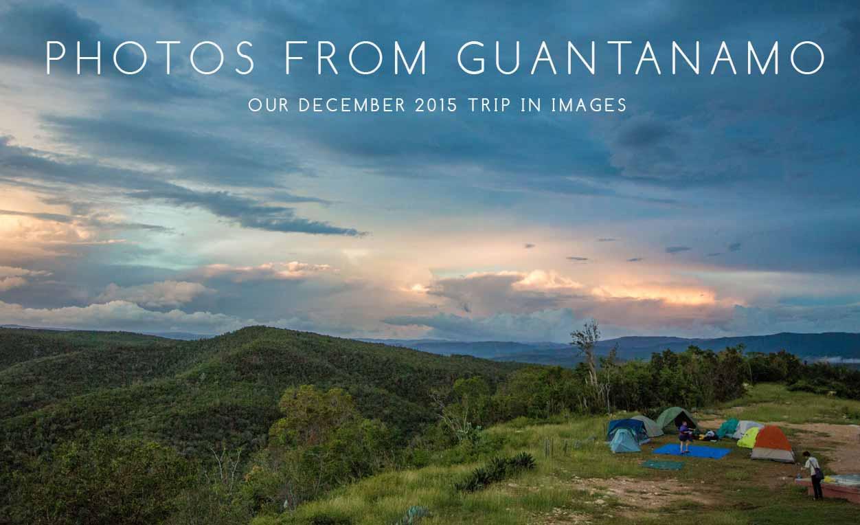 Photos from Guantánamo